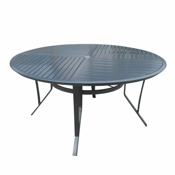 Inessa Aluminum Dining Table by Ivy Bronx