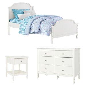 Arinna Twin Panel Configurable Bedroom Set