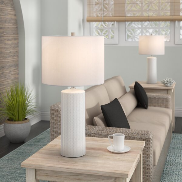 Heming 25.25 Table Lamp (Set of 2) by Beachcrest Home