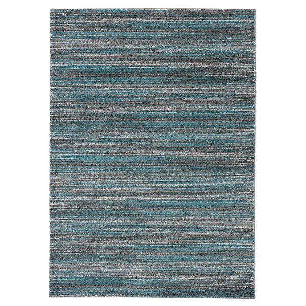 Eaglin Gray/Blue Area Rug by Wrought Studio