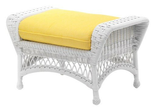 Sommerwind Outdoor Ottoman with Cushion by Woodard