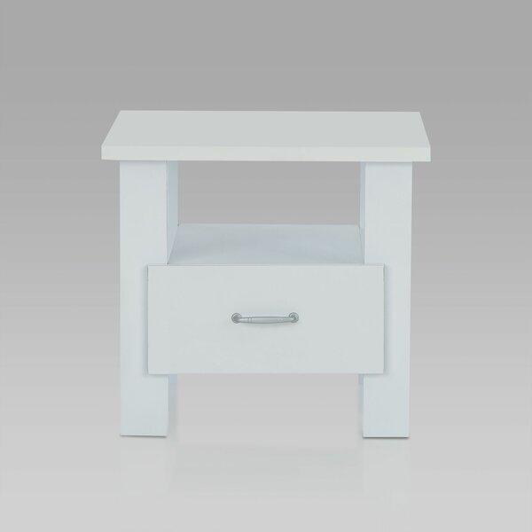 Primm Modern Simple 1 Drawer Nightstand by Breakwater Bay