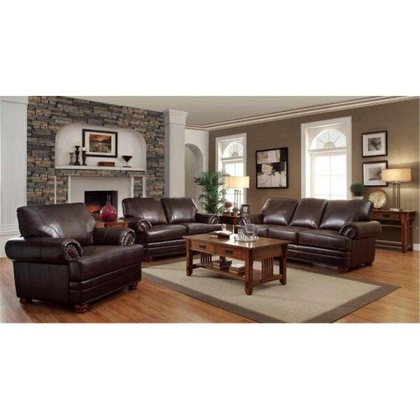 Home & Outdoor Heyman 3 Piece Living Room Set