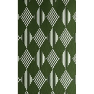 Christmass Green Indoor/Outdoor Area Rug By The Holiday Aisle