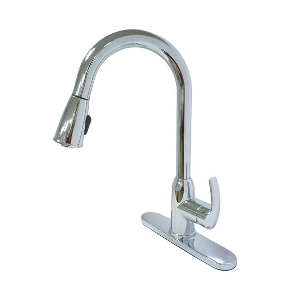 Pull Down Single Handle Kitchen Faucet by Dominion Faucets
