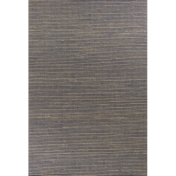 Anders Hand Woven Wool Blue Area Rug by Longshore Tides