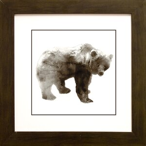 Bear by Edward Selkirk Framed Painting Print by Star Creations