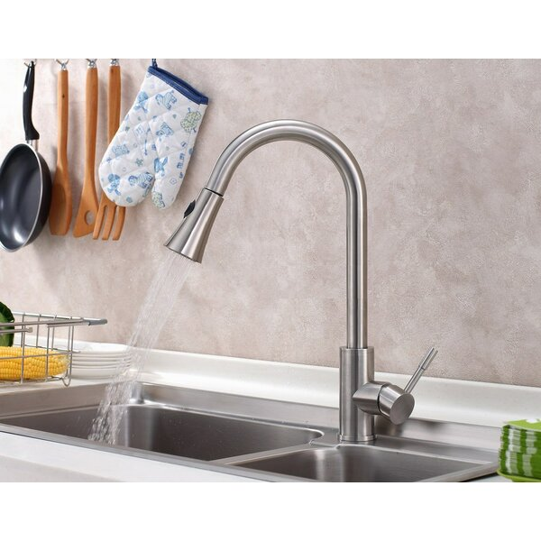 Contemporary/Modern Single Handle Kitchen Faucet by Sumerain International Group