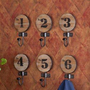 Decorative Wall Hook find the best wall hooks & coat racks   wayfair