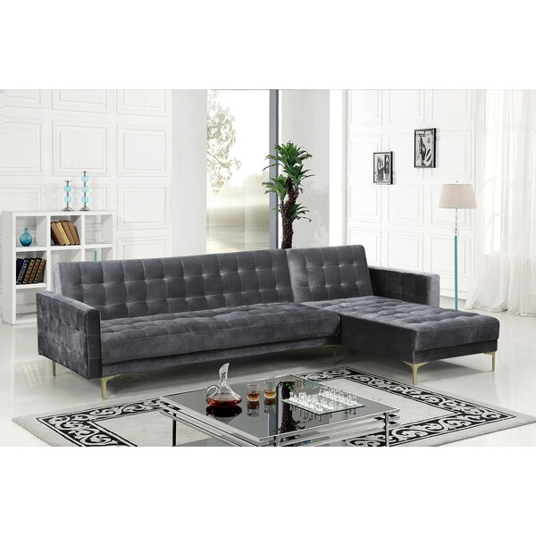 Eastcotts 196.5-inch Right Hand Facing Sleeper Sectional by Ivy Bronx Ivy Bronx