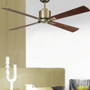 Compare 52 Sheilds 4 Blade Ceiling Fan with Remote By Orren Ellis