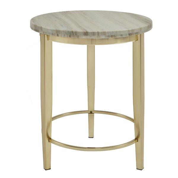 Sadler End Table by Everly Quinn