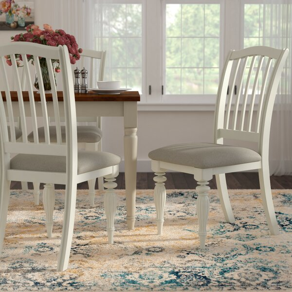 Cambrai Solid Wood Dining Chair (Set of 2) by Lark Manor