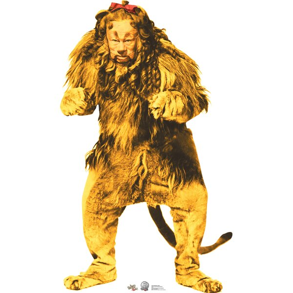 Advanced Graphics Cowardly Lion Wizard Of Oz 75th Anniversary Cardboard Standup Reviews