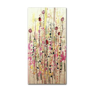 Samsara by Sylvie Demers Painting Print on Wrapped Canvas by Trademark Fine Art