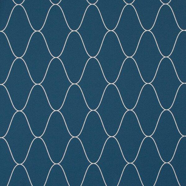 Wave 32.97 x 20.8 Trellis Wallpaper by Walls Republic