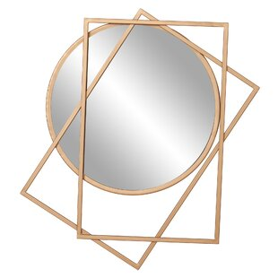 Wrought Studio Halcomb Layered Wall Mounted Mirror