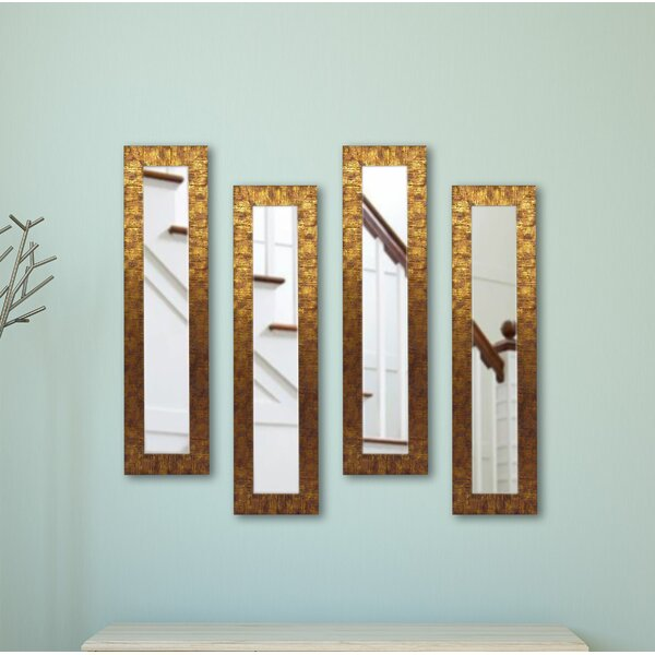4 Piece Winkfield Panels Mirror Set by Bloomsbury Market