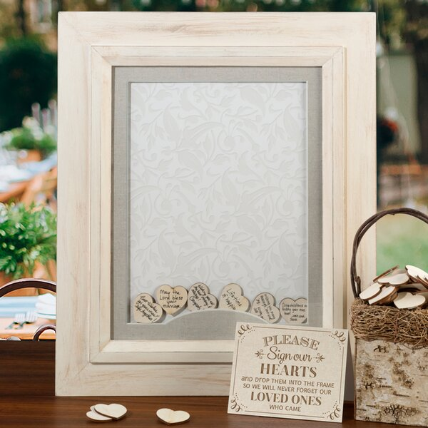 Frame for Signing Hearts by Lillian Rose