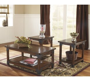 Boalt 3 Piece Coffee Table Set