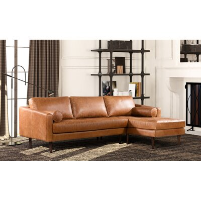 Foundry Select Leather Sectional Orientation Sectionals
