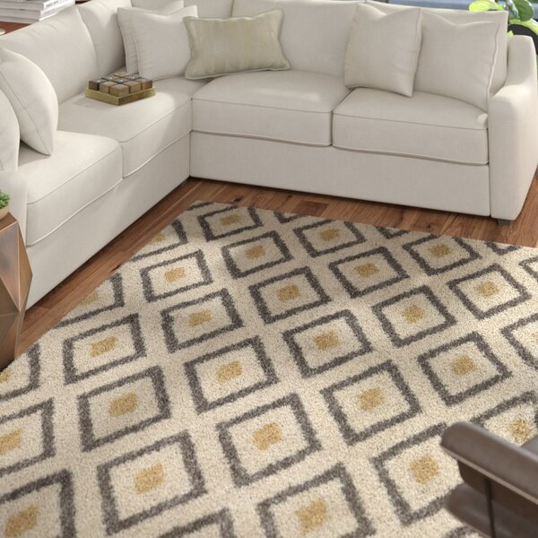 Arbour Tan Area Rug by Mercury Row