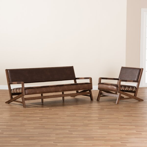 Phoenix 2 Piece Living Room Set by Union Rustic