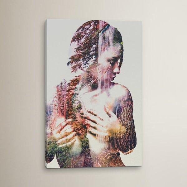 Wilderness Heart III Graphic Art on Wrapped Canvas by Brayden Studio