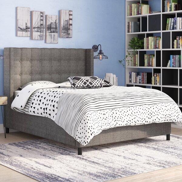 Nauman Tufted Standard Bed by Brayden Studio