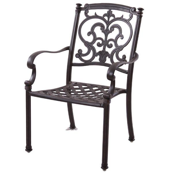 Palazzo Sasso 7 Piece Metal Frame Dining Set with Cushions by Astoria Grand