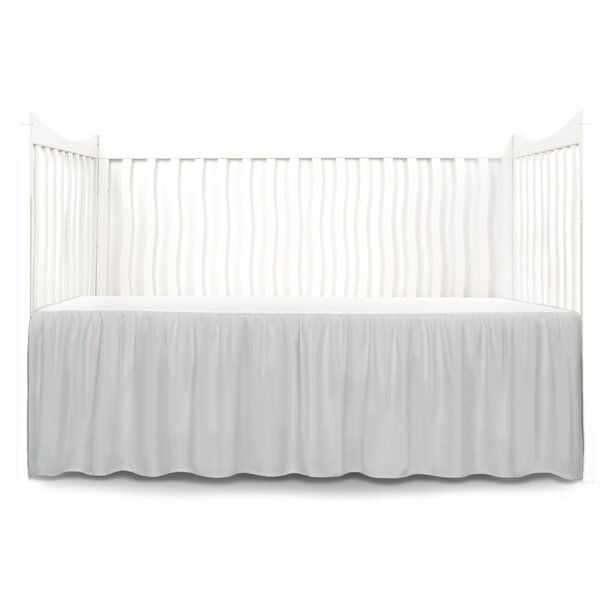 Dust Ruffle Crib Skirt By Tadpoles.
