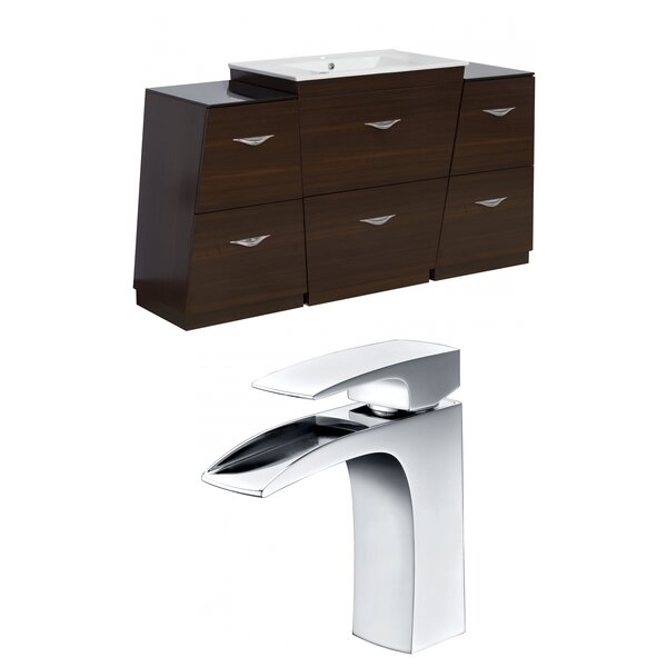 Vee 62 Single Bathroom Vanity Set by American Imaginations