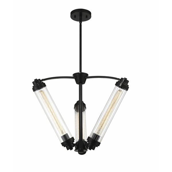 Stimpson 3 - Light Shaded Classic / Traditional Chandelier By Wrought Studio