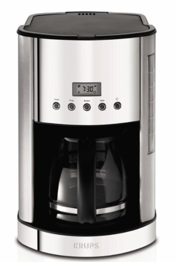 12 Cup Glass Carafe Coffee Maker by Krups