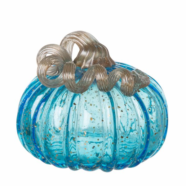 Glass Pumpkin by Red Barrel Studio