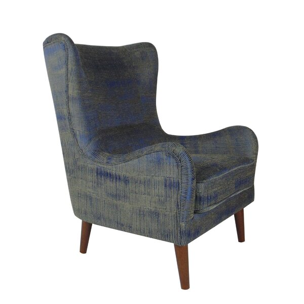 Rioux Occasional Wingback Chair By Brayden Studio by Brayden Studio Best Choices