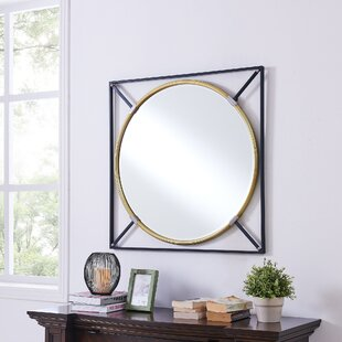 Wrought Studio Shultis Oversized Decorative Wall Accent Mirror