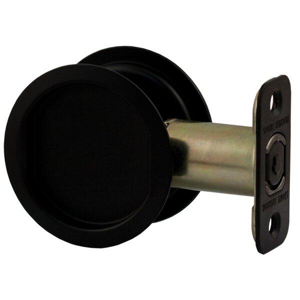 Round Pocket Door Latch by Stone Harbor Hardware