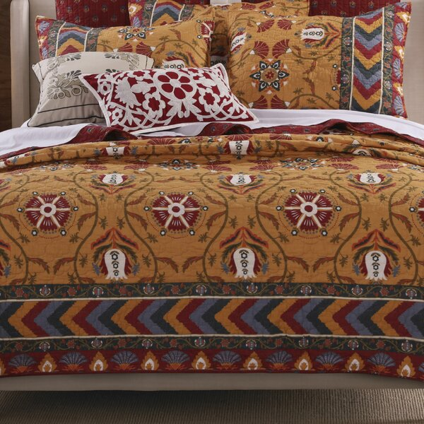 Farrah Quilt Set by Greenland Home Fashions