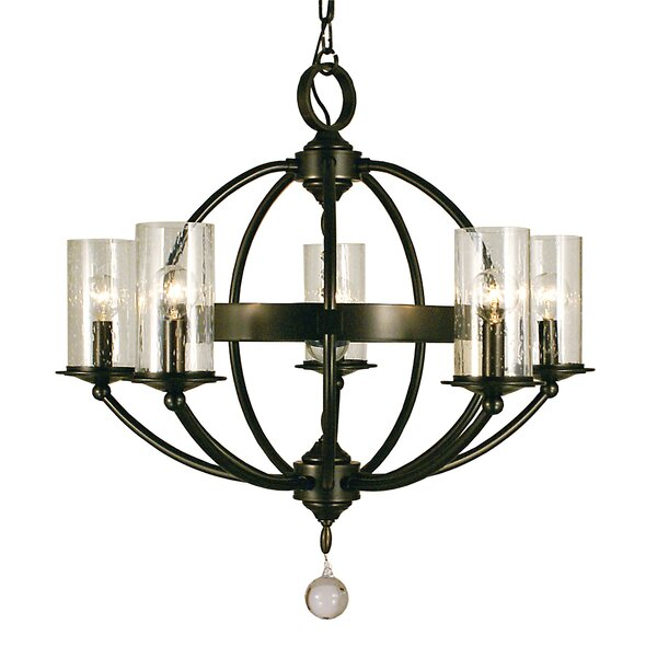 Reepham 5 - Light Unique / Statement Globe Chandelier by Darby Home Co Darby Home Co