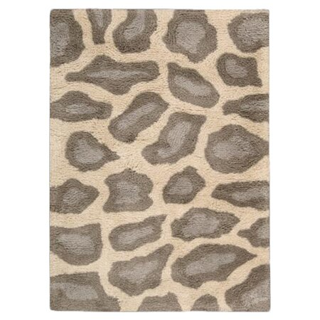 Ramona Hand-Tufted Ivory/Brown Area Rug by World Menagerie