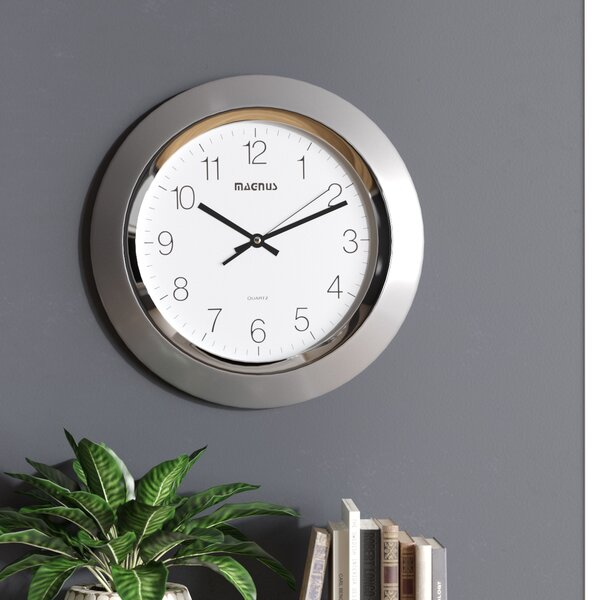 14 Wall Clock by Wrought Studio