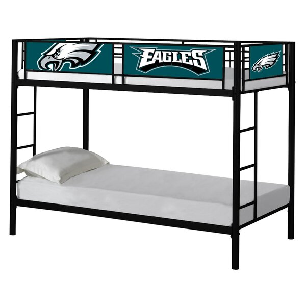 NFL Twin over Twin Bunk Bed by Baseline Licensing Group