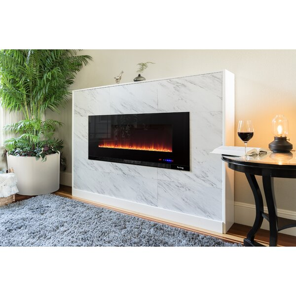 Wall Mounted Electric Fireplace Insert By E-Flame USA