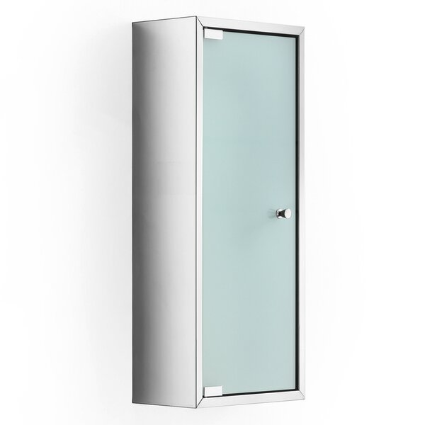 Linea 9.8 W x 23.6 H Wall Mounted Cabinet by WS Bath Collections