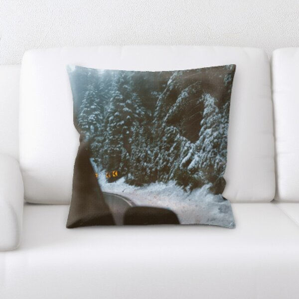 Winter Feeling (51) Throw Pillow by Rug Tycoon