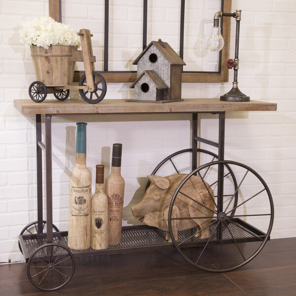 Efigenia Bar Cart by Gracie Oaks