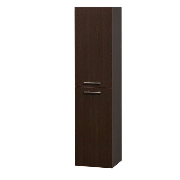 Amare 13.75 W x 56 H Wall Mounted Cabinet by Wyndham Collection