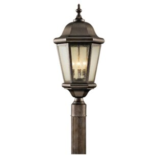 Best Reviews Martinsville Outdoor 3-Light Lantern Head By Feiss
