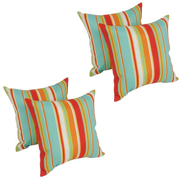 Havilland Outdoor Throw Pillow (Set of 4) by Bay Isle Home